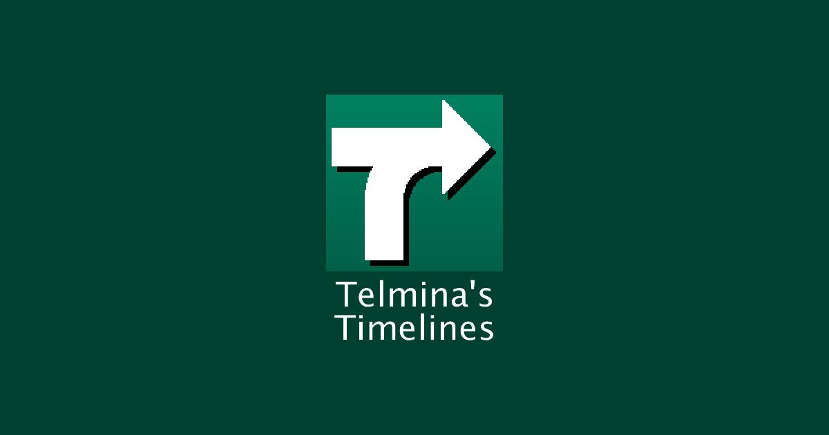Telmina's Timelines